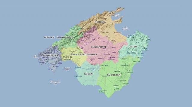 Mallorca Kurze Inselgeografie